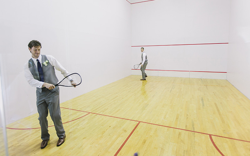 Bell Mill Mansion | Amenities - Indoor Raquetball Court