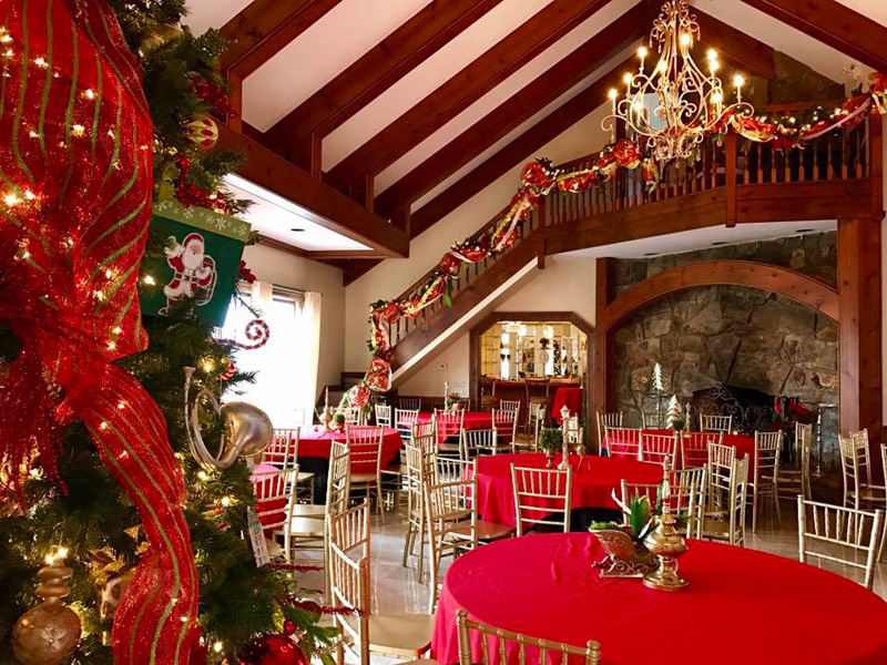 Christmas Holiday Party.Bell Mill Mansion Corporate Holiday Parties Business