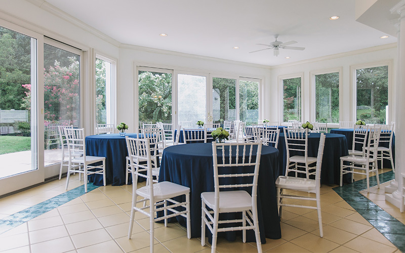 Bell Mill Mansion | Wedding Amenities - Outdoor Wedding Receptions